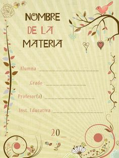 Caratulas Escolares 2011 - Made in Lima_Peru on Behance                                                                                                                            Más