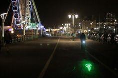 the blaze bike laser light