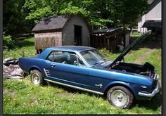 1966 Ford Mustang for sale (NY) - $7,500  '66 Ford Mustang Coupe Project Vehicle. Was Amaturely Restored 10 years ago - Needs to be freshened Very Solid Car ; All Original ; Numbers Matching Blue