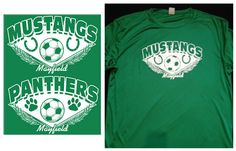 Perfect custom transfer for a soccer league, layout QSO-188 fits 2 prints per sheet to reduce screen printing costs