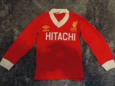 HITACHI SHIRT - The Kop Photo - Liverpool FC