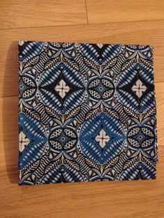 Reversible Fabric - Authentic Woodin African Fabric, Double sided, Ghanaian Textile, 2 Yards,  100% cotton by TrybLife on Etsy