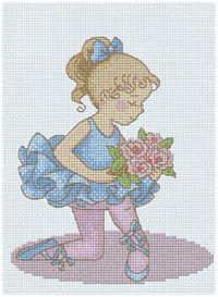 PINN Cross Stitch : Ballet PrincessCross Stitch KitsonSweet & Youngcategory