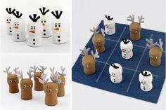 Besoin de nouvelles idées bricolages pour une décoration de Noël pas chère ?…