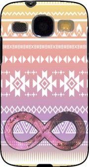 coque Pink Aztec Infinity pour Samsung Galaxy Core Plus G3500