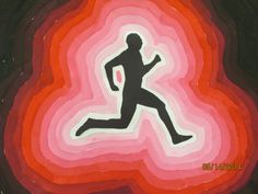 Figure in motion…students learned how to mix tints and shades with tempera grade Project Ideas, Art Projects, Value Painting, 8th Grade Art, Elements And Principles, Tempera, Student Learning, Figurative Art, Middle School