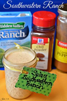 #Southwestern #Ranch #Dressing easy to make and delicious.