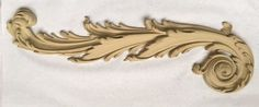 """One of our many delicately crafted scrolls. This Louis XIV scroll (#9471) is 18"""" x 5"""""""