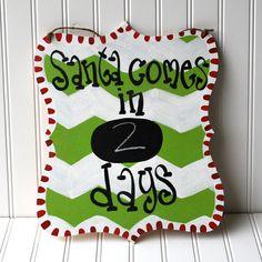 Advent Calendar Days Till Christmas Christmas by LooLeighsCharm, $25.00