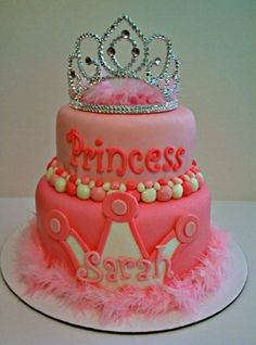Little Girl Birthday Cake Idea - aaawww it has my name on it lol