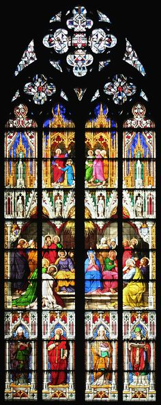 Cologne Cathedral - Germany - stained glass window