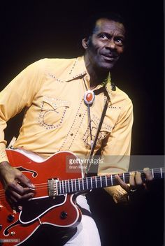 Chuck Berry In Concert, Hammersmith Odeon, London, Britain - 1991, Chuck Berry