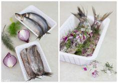 Nieuwe haring met ui en venkel van sal-t
