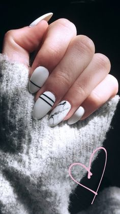 Great Nails, Cute Nail Art, Cute Nails, My Nails, Classy Nails, Stylish Nails, Trendy Nails, Coffin Nails, Acrylic Nails