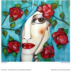 Seda y Rosas - Comprar en Karina Chavin Espacio de Arte