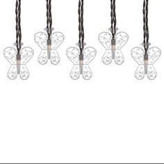 Buy Decorative Butterfly Light String (Set of 10) from Bed Bath & Beyond