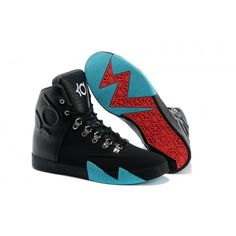 2015 Nike KD 6 NSW Lifestyle Black Blue Red Basketball Shoes Stores
