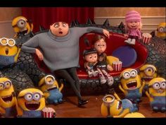 Despicable Me 2 Minion Ice Cream Party Funny | Minions, Anges , Gru All Best Moments - YouTube