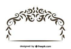 esquineros decorativos vector - Buscar con Google