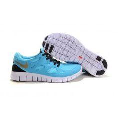 Wholesale Nike Free Run+ 2 Lysblå Guld Herresko Skobutik | Brand nye Nike Free Run+ 2 Skobutik | Billigt Nike Free Skobutik | denmarksko.com