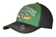 Guinness Green Harp Opener Hat