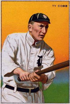 ty cobb baseball cards - Google Search