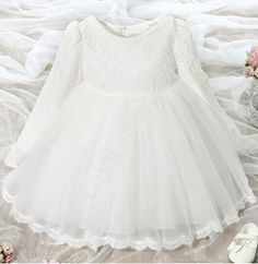 Koronkowa sukienka dla dziewczynki | sukienka na chrzest , wesele