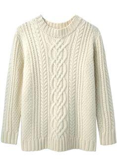 Steven Alan / Cable Knit Sweater   La Garçonne