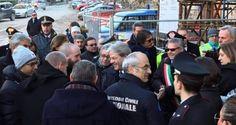 Paolo Gentiloni in visita presso San Ginesio