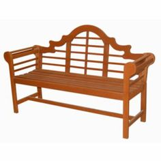 Classic Lutyens Patio Bench - Outdoor