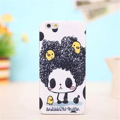 Bakuhatsu Panda Kawaii Iphone 6 6s Hard Case New, never used Accessories Phone Cases