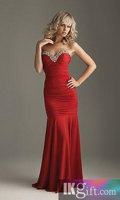 Red Prom Dress. Pretty!