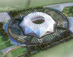 (Soccer) Grand Stade de Casablanca, Casablanca, Morocco - home of Raja Casablanca, Wydad Casablanca (capacity: 80,000)