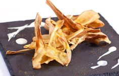 This is a fantastic parsnip crisp recipe from Shaun Rankin of the Bohemia that will make a great accompaniment for sandwiches, burgers or a great, simple snack