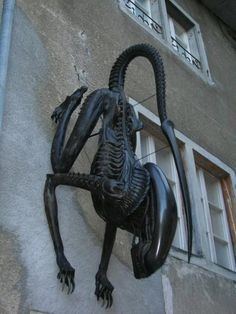 Outside Of Giger's Home