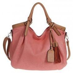 Pink Tote Bag.