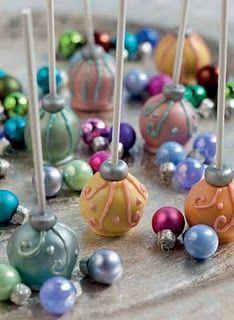 Cake Pop Ideas | Ornament Cakepops
