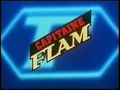 Capitaine Flam : meezingen, En even waren we superhelden Space Opera, Back To The 80's, Film Serie, Learn French, Chevrolet Logo, Childhood Memories, Nostalgia, Neon Signs, Youtube