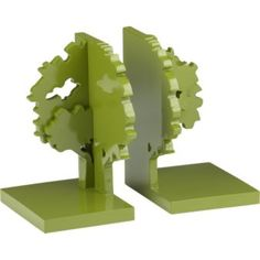 Bookends to keep story time organized.  $49.95 for the set at cb2.com