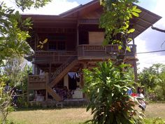 Minahasa wooden house @North Sulawesi Indonesia