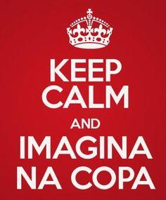 Brasil vai ganhar!! Haha jk probably not