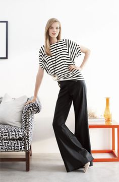 Lafayette 148 New York 'Lavish Linen' Sailor Pants | Nordstrom