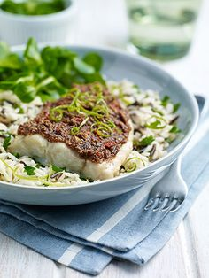 Fillet of Coley with Almond, Chilli and Lime Crust Recipe Uk Recipes, Chilli Recipes, Seafood Recipes, Vegan Recipes, Crust Recipe, Butter Recipe, Healthiest Nut Butter, Oven Dishes, Clean Eating Recipes