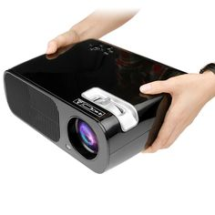 Work great for me! HD 3200 Lumens Home Theater Projector LED1080P Cinema Support HDMI VGA AV USB for Home Cinema Theater Child Games or Business Presentations and Meetings Black - What are you searching about ...?