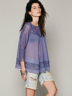 Free People FP ONE Golden Age Top, $98.00