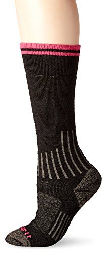 d0b97b5683 Carhartt Womens Merino Wool Blend Graduated Compression Boot Socks Black  Shoe 55115 -- Click on the image for additional details.Note:It is  affiliate link ...