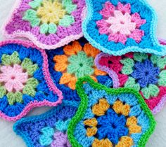 Ravelry: Project Gallery for Mystical Lanterns Blanket pattern by Jane Crowfoot