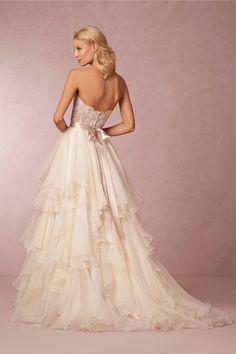 Maelin Corset and Priya Skirt in Bride Wedding Dresses at BHLDN