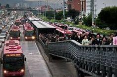 Kuvahaun tulos haulle people in busses less traffic