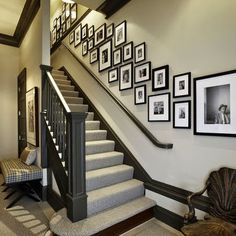 Staircase Wall Ideas | we collect the most creative staircase wall decorating ideas